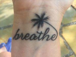 Beach Tattoos With Images Just Breathe Tattoo Tree Sleeve