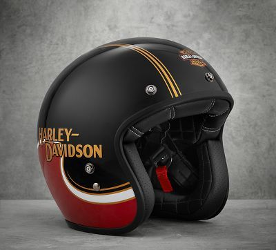 The Shovel B01 3 4 Helmet At The Official Harley Davidson Online Store The Shovel B01 3 4 Helmet Goes Retr Harley Davidson Helmet Harley Davidson Online Store