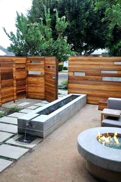 Image Result For Modern Outdoor Water Features Modern Landscaping Modern Pond Outdoor Water Features