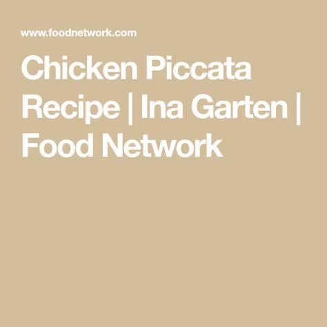 List Of Pinterest Ina Garten Chicken Piccata Food Network Images