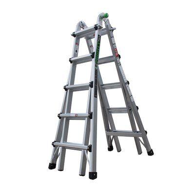 Wfx Utility 22 Ft Aluminum Multi Position Ladder Ladder Multi