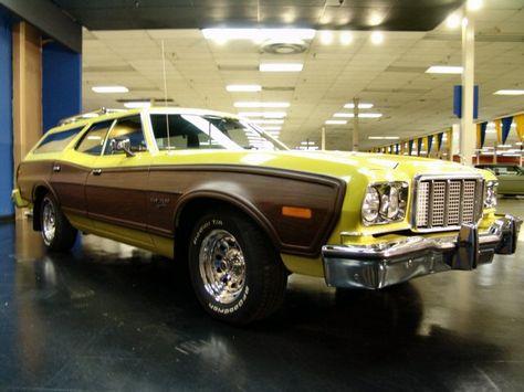 1974 Ford Gran Torino Squire Station Wagon