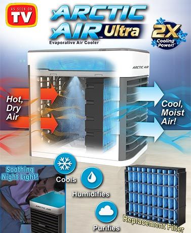 Quickly And Easily Cool Your Space With The Arctic Air Ultra Evaporative Air Cooler It S Lightwe Home Repairs Home Improvement Projects Evaporative Air Cooler