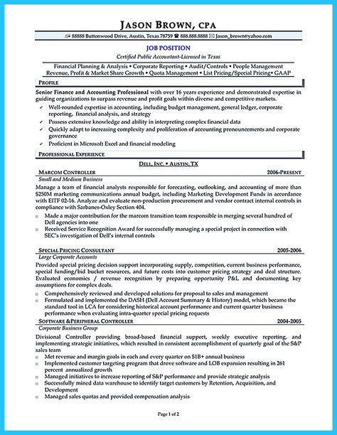 CFO Resume Sample Vice President of Finance, Director of Finance - cfo sample resume