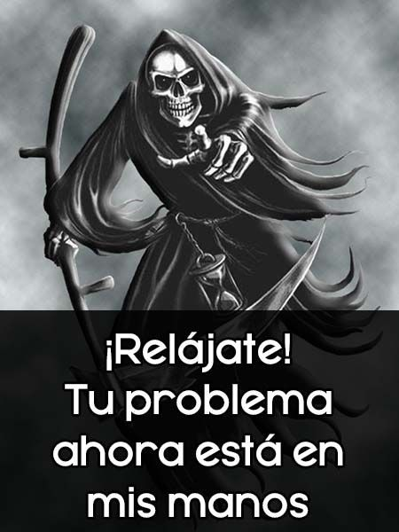 Imagenes De Santa Muerte Con Frases Santa Muerte Imagenes