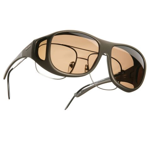 ce9647e2f3 Cocoons Pilot OveRx Sunglasses Size L - Sand Frame - Amber Lens - Cocoons  Fitovers - MaxiAids