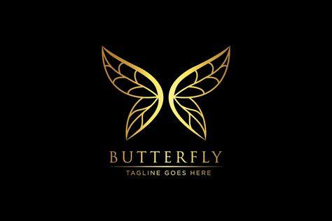 Luxury Butterfly - Logo Template by BrandSemut on