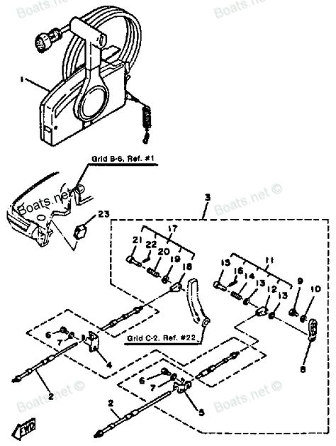 Click on image to download 1985 Yamaha 30ESK Outboard