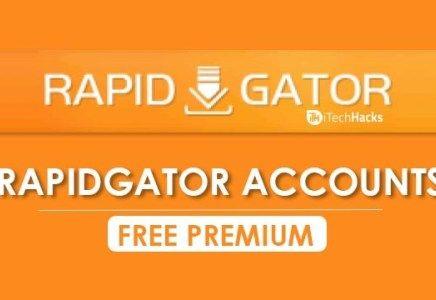 Free Premium Rapidgator Accounts & Passwords 2019 – Working