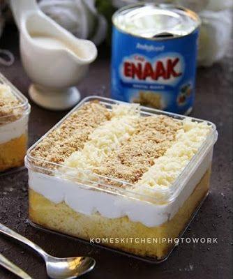 Milk Bath Cake Makanan Makanan Manis Resep Makanan Penutup