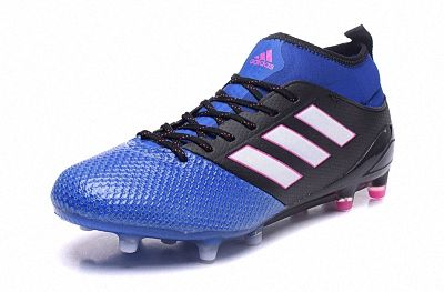 2018 Fifa World Cup Adidas Ace 17 3 Fg Soccer Cleats Blue Black Pink White Black Pink Adidas Adidas Soccer Shoes