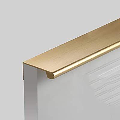 Hardware Furniture Handles Brushed Handle Kitchen Wardrobe Modern Door Handle CO