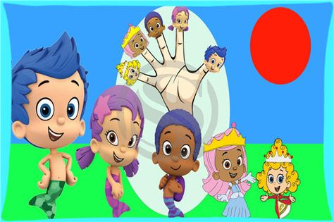Finger Family (Bubble Guppies) - Cartoon Bubble Guppies Finger Family So.