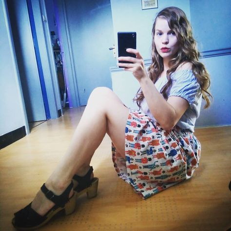 newvintage Outfit of the day, wearing my...