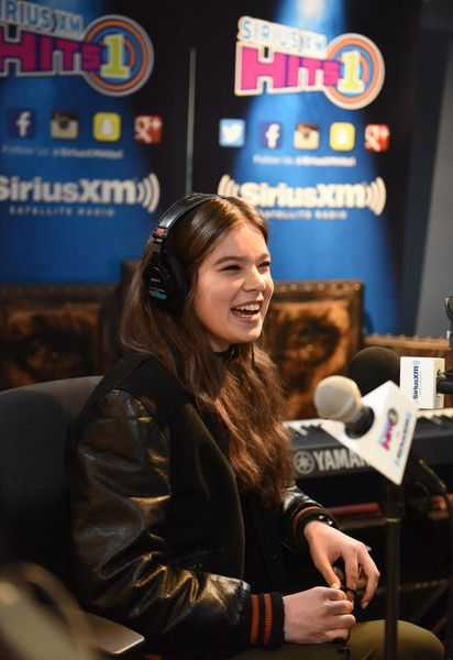 Singer and actress Hailee Steinfeld attends SiriusXM Hits 1's The Morning Mash Up Broadcast From The SiriusXM Studios In Los Angeles on February 12, 2016 in Los Angeles, California.