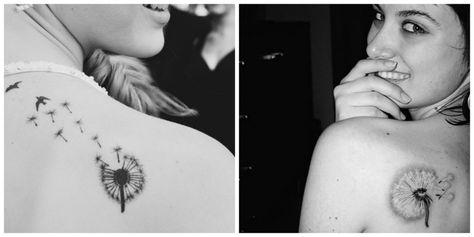 tatouages discret pour fille | Sur les épaules ou encore en haut du dos vous pouvez opter pour une ...