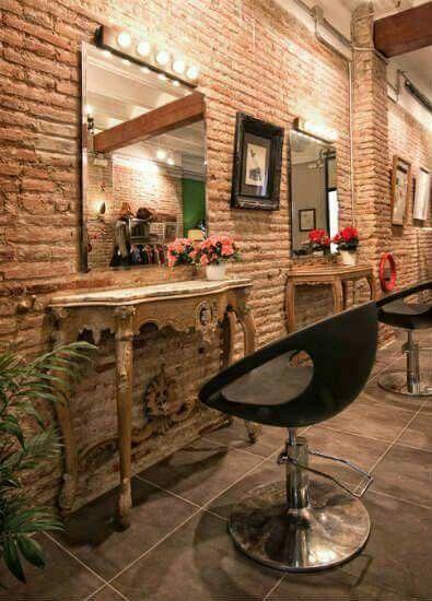 Tocador In 2020 Vintage Salon Decor Vintage Hair Salons Hair Salon Decor