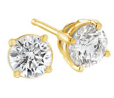 Diamond Stud Earrings By Novori Diamond Earrings Studs Diamond Earrings Gold Diamond Earrings