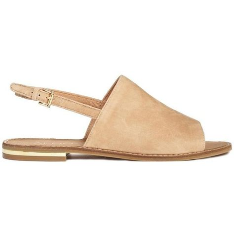 97d4044a6f3d ALDO Cassica Natural Flat Sandals ( 53) ❤ liked on Polyvore featuring shoes