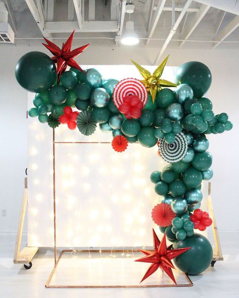 """Social Blueprints on Instagram: """"EXCITING NEWS! • Social Blueprints will now offer 10 ft. Balloon garlands for pickup or install for your holiday event- Up to 4 colors and…"""""""