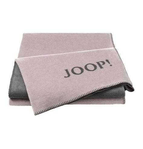 Wohndecke Joop Melange Doubleface Rose Grau 150x200cm Wohndecke Deckchen Wohnen