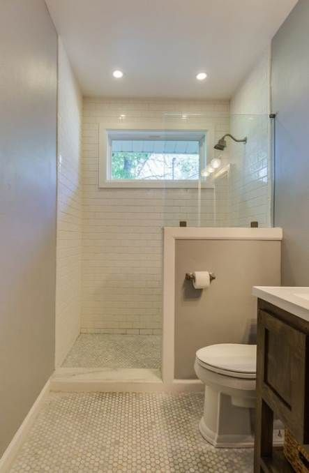 48 Ideas Bath Room Window Privacy Ideas Half Walls For 2019 Bath In 2020 Bathroom Remodel Shower Bathroom Remodel Cost Diy Bathroom Remodel