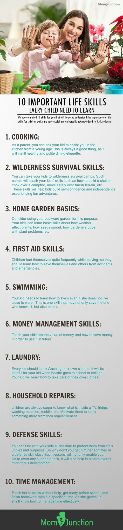 Life Skills For Children: We have compiled 10 skills for you that will help you understand the importance of life skills for children which are very useful and universally acknowledged for kids to learn. #parenting