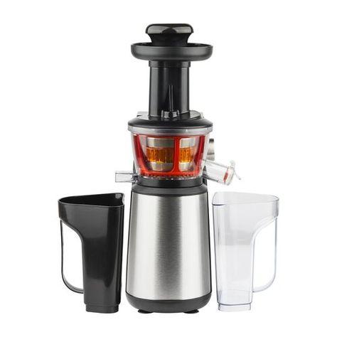 Aigostar MyFrappe Black 30IMX Cuerpo de acero inoxidable de tipo 304 y libre BPA jarra de 1,25 litros Dise/ño exclusivo. 850W Licuadora semiprofesional para frutas y verduras con dos velocidades