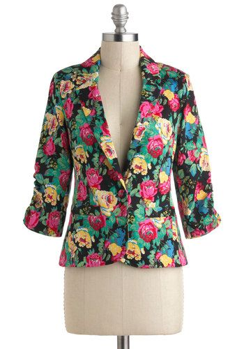 floral blazers