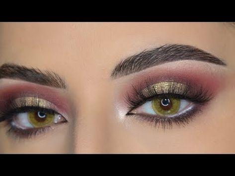 مكياج لتوسيع العيون الصغيرة والمبطنة Maysam Makeup Youtube