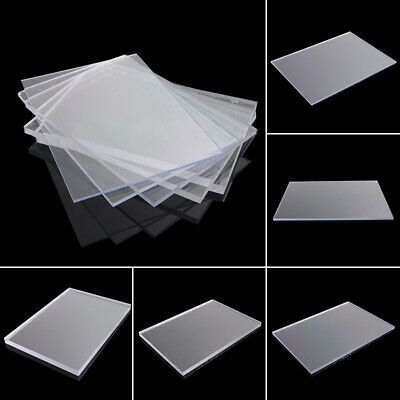 Details About 2 3 4mm Clear Plastic Acrylic Plexiglass Perspex Sheet 148x105mm Us In 2020 Perspex Sheet Clear Acrylic Sheet Plexiglass Panels