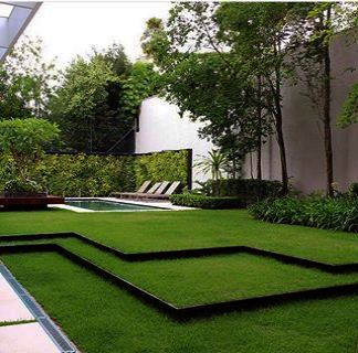 Tips For Great Designs In Your Landscaping Plan With Images Landscape Design Modern Landscaping Backyard Landscaping