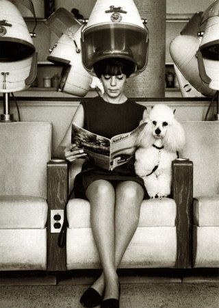 At the vintage  hair salon......-pin it by carden