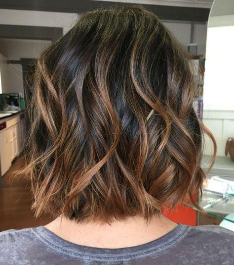 Le carré wavy la tendance coiffure du printemps 2017