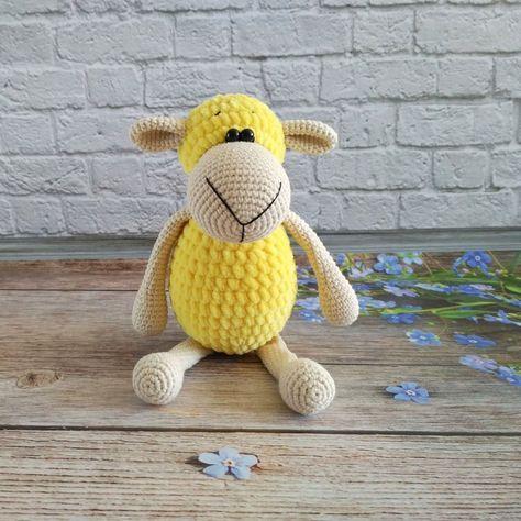 Crochet mini pig amigurumi plush pattern | Amiguroom Toys | 474x474