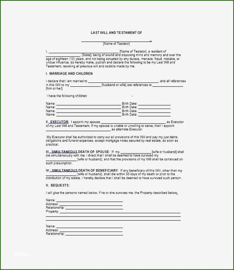 17 Superb Last Will And Testament Template For Married Couple Last Will And Testament Will And Testament Templates Printable Free