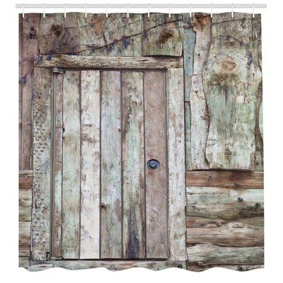 East Urban Home Ambesonne Rustic Shower Curtain Old Rustic Barn Door Cottage Country Cabin With Images Rustic Shower Curtains Vintage Shower Curtains Shower Curtain Sets