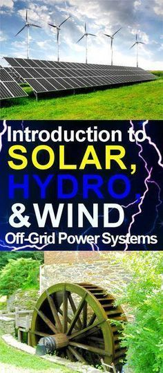 Off-Grid Power Systems for Tiny Houses