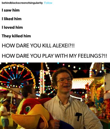 """I certainly cried the most For him. Alex I will live on in out hearts. For Everyone Who Is Emotional About Alexei On """"Stranger Things"""" Stranger Things Fotos, Stranger Things Quote, Stranger Things Have Happened, Stranger Things Netflix, Stranger Things Spoilers, Hopper Stranger Things, Stranger Things Season 3, Quotes Sherlock, Sherlock Bbc"""