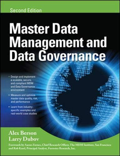 Free Download Pdf Master Data Management And Data Governance 2e Free Epub Mobi Ebooks Master Data Management Management Data