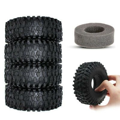 4pcs 120mm 1 9 Tires Tyre For 1 10 Rc Crawler Scx10 90046 D90 Trx 4 Truck Rock In 2020 Rc Crawler Trx Rc Rock Crawler