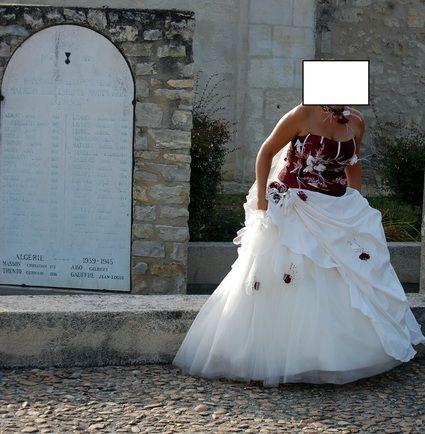 Robe de mariee occasion bordeaux