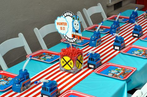 36 Thomas The Tank Engine Party Ideas Trains Birthday Party Thomas Birthday Thomas The Train Birthday Party