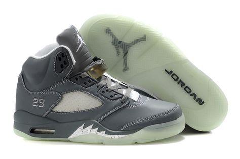 e664949b11e777 Nike Air Jordan shoes AIR JORDAN 5 Glow Glow Black Shark Joe 5 Timberwolves  basketball shoes Air Jordan 5 generations from taobao