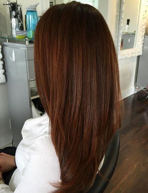 Gorgeous auburn hair color ideas for women. Best auburn hair color ideas for long hair. Shades of auburn hair color.