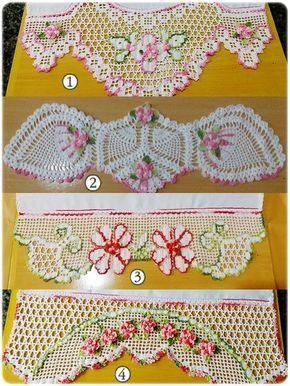 Foto1 Jpg 600 800 Com Imagens Bico De Croche