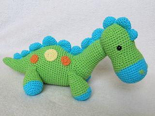 Dinosaurios Amigurumis Patrones Gratis : Resultado de imagen para patron gratis amigurumi dino dino colorido