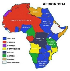 map of present day africa Modern Day Colonization Africa Africa Map Africa History map of present day africa