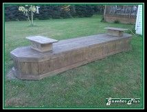 Superbe Hide Septic Accesss With A Long Bench. By A Fire Pit?