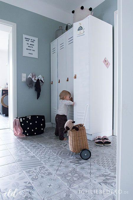 Roomtour Unser Flur Teil 1 Mehr Ordnung Garderobe Kleiner Flur Flure Spint Schrank